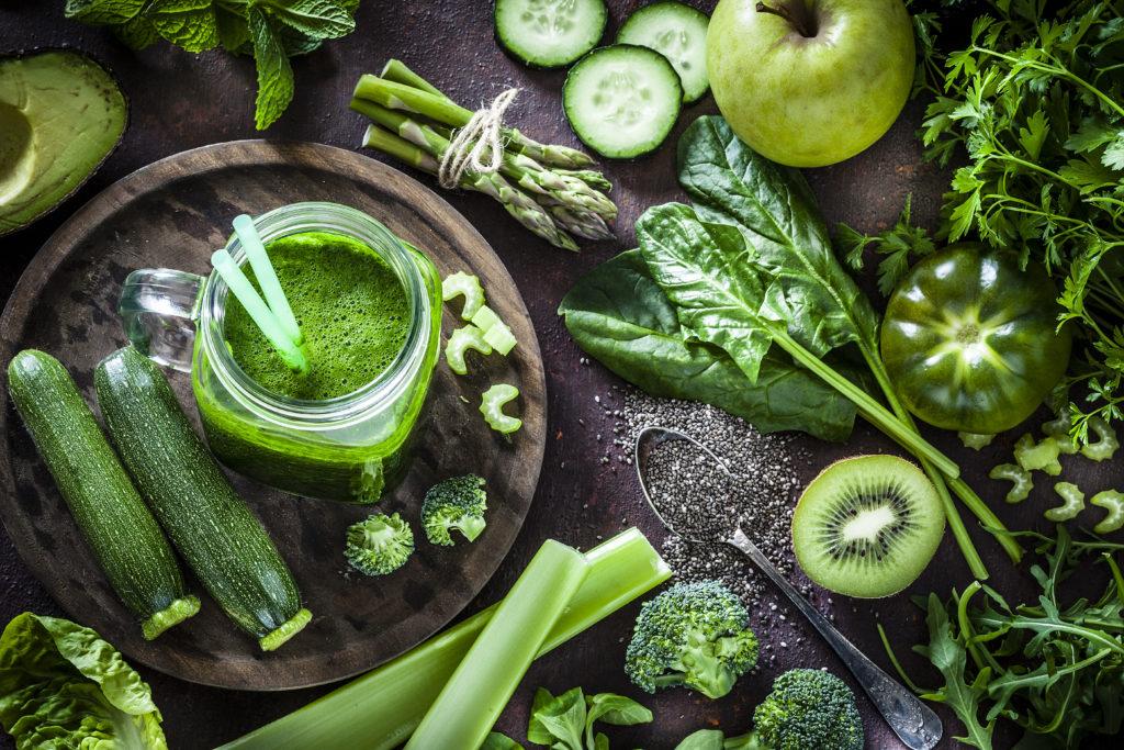 green chickpea recipe